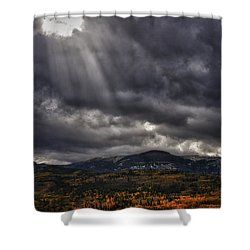 Autumn Beams Shower Curtain