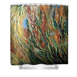 Autumn Bloom Shower Curtain