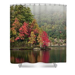Autumn Breath Shower Curtain
