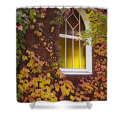 Autumn Church Shower Curtain