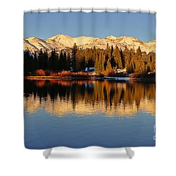 Autumn Colors At Molas Shower Curtain
