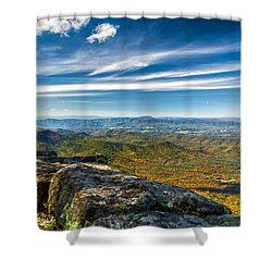 Autumn Colors In The Blue Ridge Mountains Shower Curtain