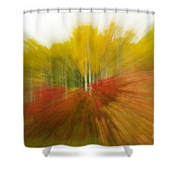 Autumn Colors Shower Curtain by Vivian Christopher