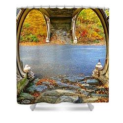 Autumn Crunch  Shower Curtain
