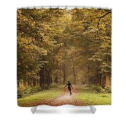 Autumn Dance Shower Curtain