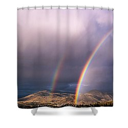 Autumn Equinox Shower Curtain