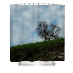 Autumn Etude Shower Curtain