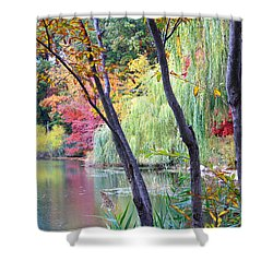 Autumn Fantasy Shower Curtain