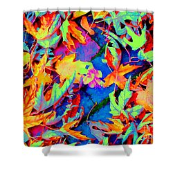 Autumn Fiesta Shower Curtain by Ann Johndro-Collins