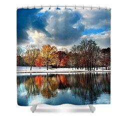 Autumn Finale Shower Curtain