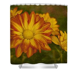 Autumn Flowers Shower Curtain by Ivelina G