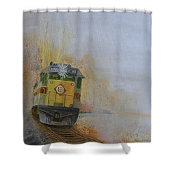 Autumn Fog Shower Curtain by Christopher Jenkins
