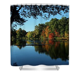 Autumn Grotto Shower Curtain