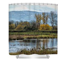 Autumn Haven Shower Curtain