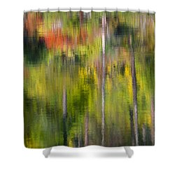 Autumn Impressions Shower Curtain by Mike  Dawson