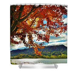 Autumn In Minnesota Shower Curtain