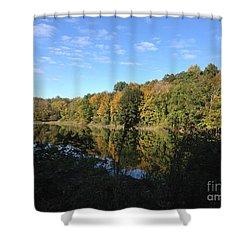 Autumn In New York Shower Curtain