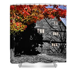 Autumn In Salem Shower Curtain