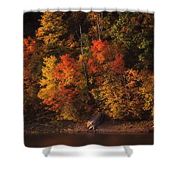 Autumn In The Ozarks Shower Curtain