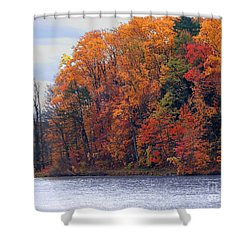 Autumn Is Upon Us Shower Curtain