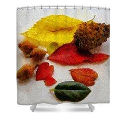 Autumn Medley Shower Curtain by Jeff Kolker