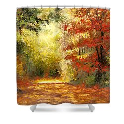 Autumn Memories Shower Curtain