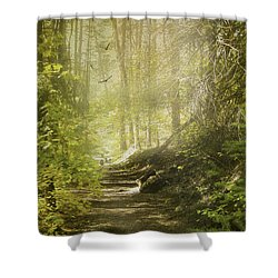 Autumn Myst Shower Curtain