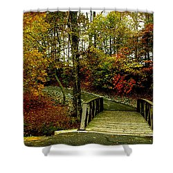 Autumn Peace Shower Curtain