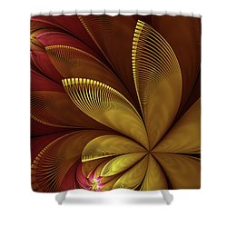 Autumn Plant Shower Curtain