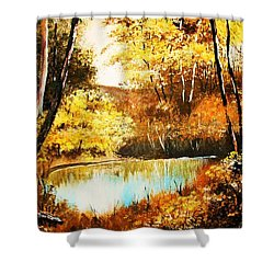 Changing Of The Season Shower Curtain