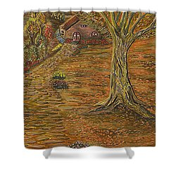 Autumn Sequence Shower Curtain