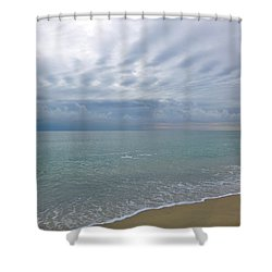 Autumn Clouds Shower Curtain