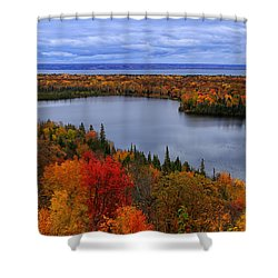 Autumn Spectacle  Shower Curtain