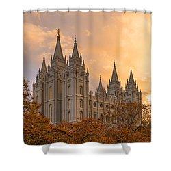 Autumn Splendor Shower Curtain by Dustin  LeFevre