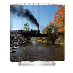 Autumn Steam Shower Curtain