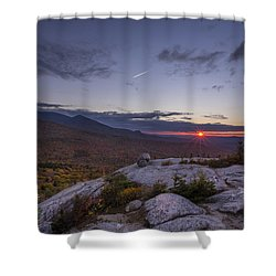 Autumn Sunset Over Sugarloaf Mountain Shower Curtain