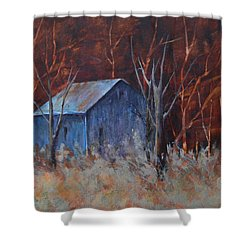 Autumn Surprise Shower Curtain by Lee Beuther
