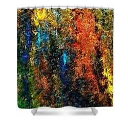 Autumn Visions Remembered Shower Curtain by David Lane