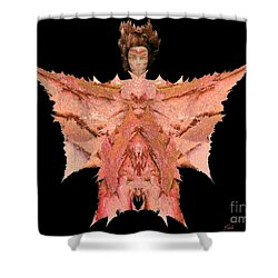 Autumn Warrior Goddess Shower Curtain