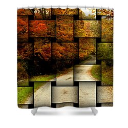 Autumn Weave Shower Curtain