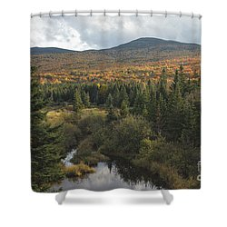 Autumn - White Mountains New Hampshire Shower Curtain by Erin Paul Donovan