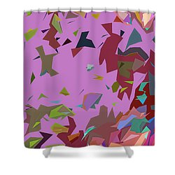 Autumn Wind Shower Curtain