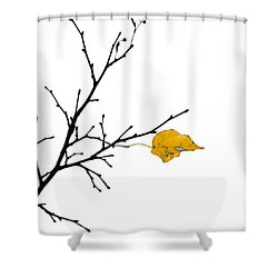 Autumn Winds - Featured 3 Shower Curtain by Alexander Senin