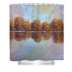 Autumnal Atmosphere Shower Curtain