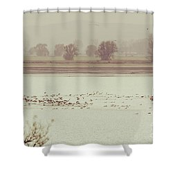 Autumnal Dreamland Iv Shower Curtain