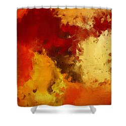 Autumn's Abstract Beauty Shower Curtain