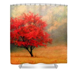 Autumns Colors Shower Curtain