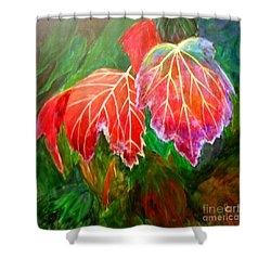 Autumn's Dance Shower Curtain