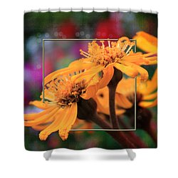 Shower Curtain featuring the photograph Autumn's Glory by Sandra Foster