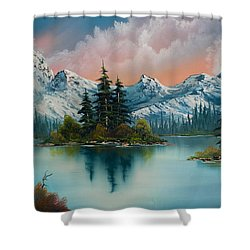 Autumn's Glow Shower Curtain by Chris Steele